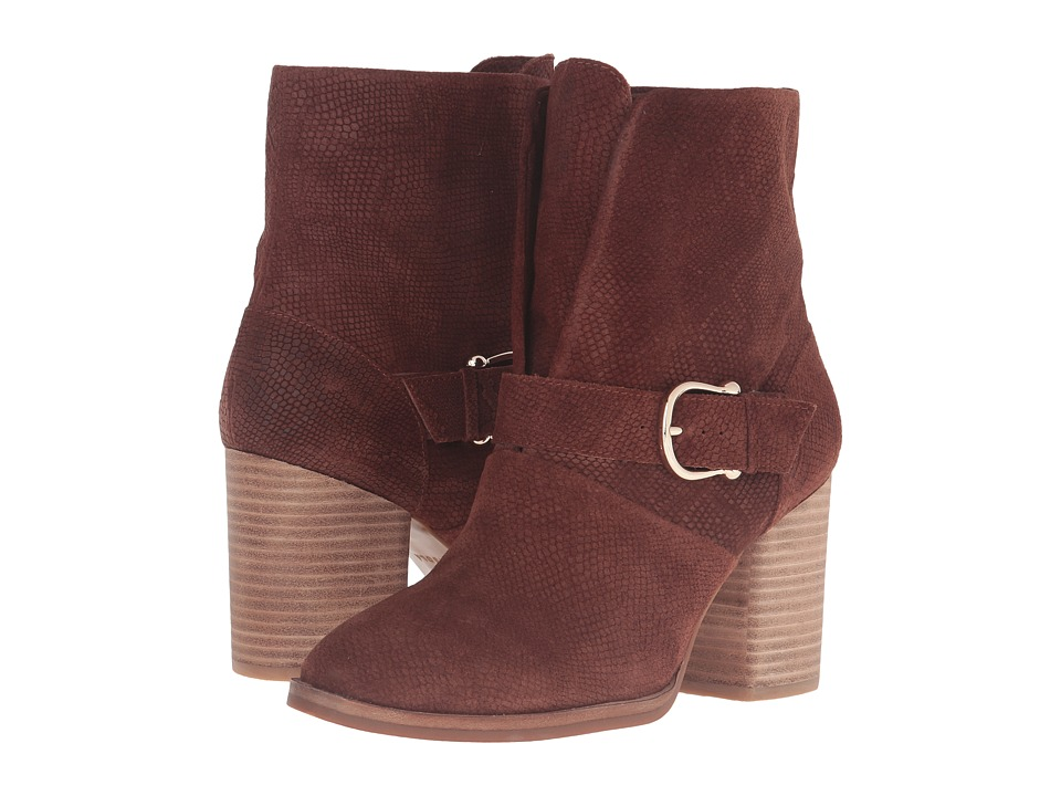 Isola Lavoy (Cocoa Embossed Lizard Suede) Women