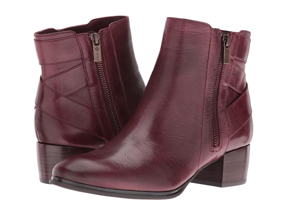 Isola - Delta (Burgundy Montana) Women's Boots