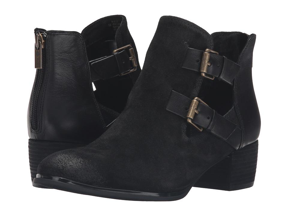Isola - Darnell (Black Alaska Suede/Gartes) Women's Boots