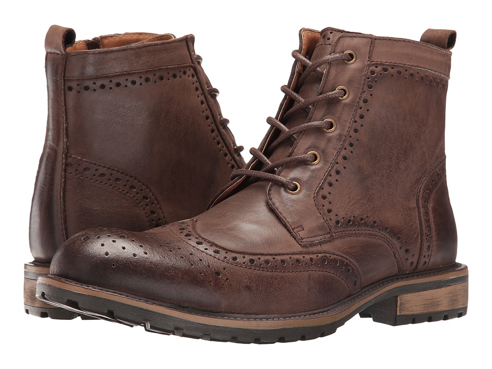 Steve Madden - Sprocket (Brown) Men's Lace-up Boots