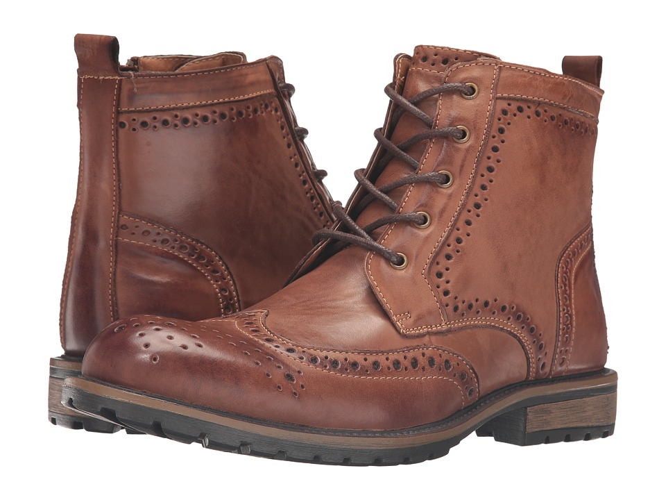 Steve Madden - Sprocket (Tan) Men's Lace-up Boots
