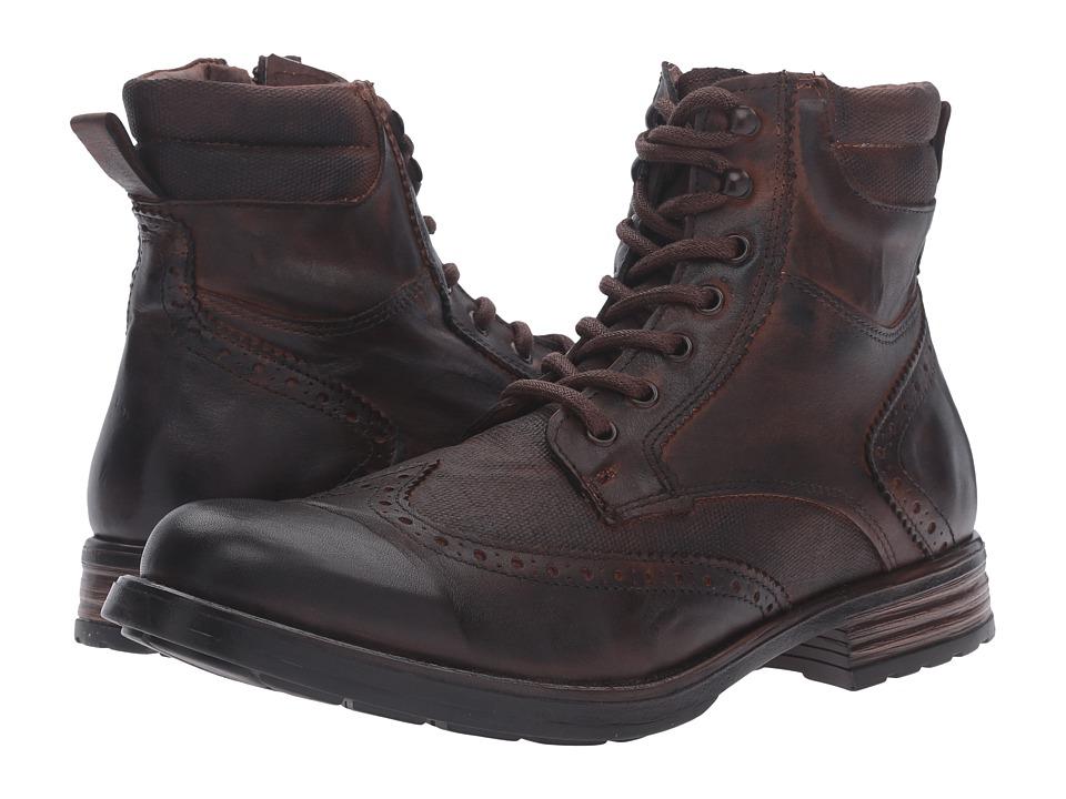 Steve Madden - Gastonn (Cognac) Men's Lace-up Boots