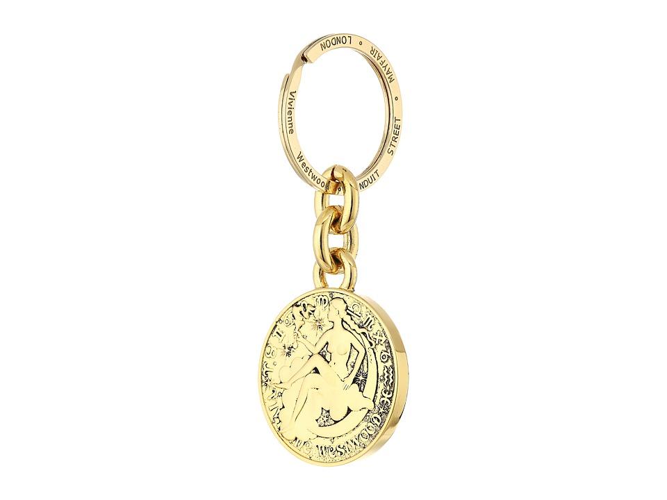 Vivienne Westwood - Titania Keyring (Antique Gold) Wallet
