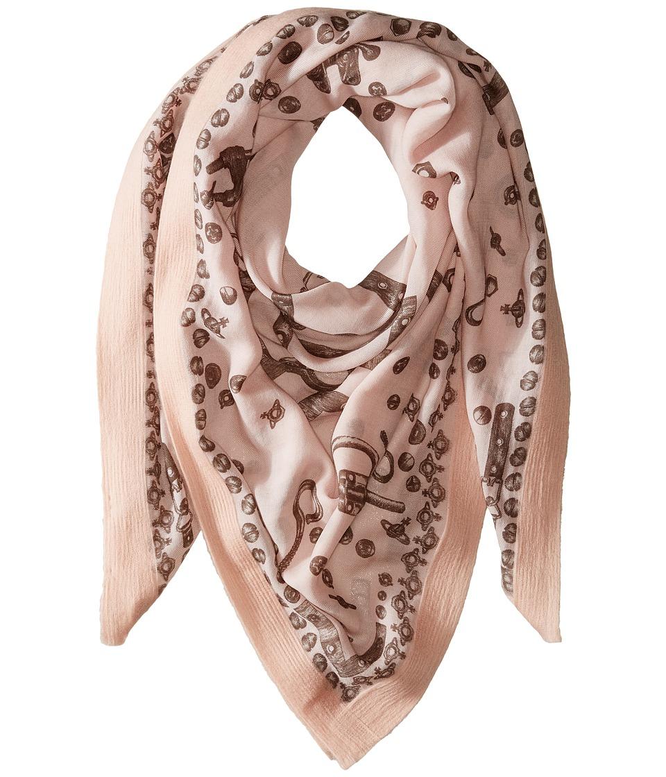 Vivienne Westwood - Hardware (Powder Pink) Scarves