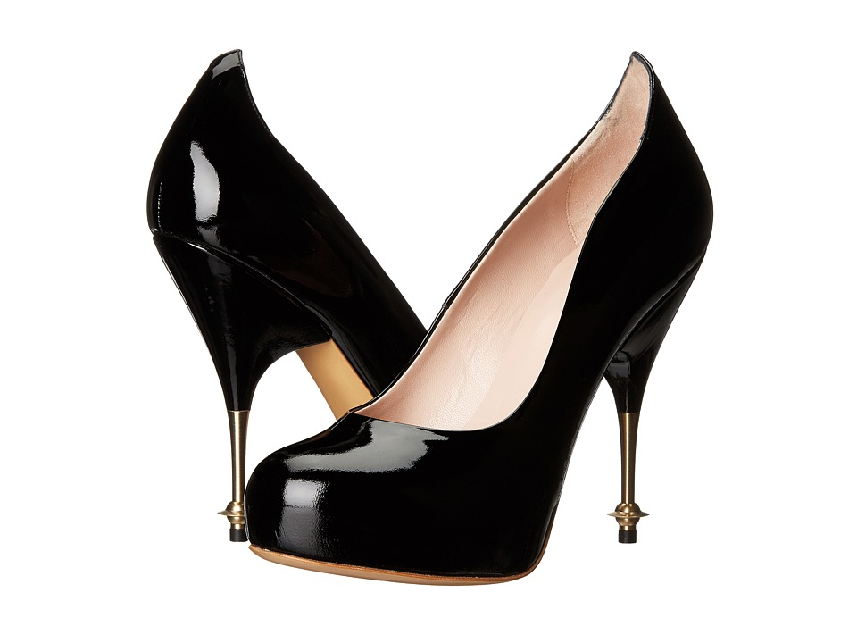Vivienne Westwood - Drama Court (Black) High Heels