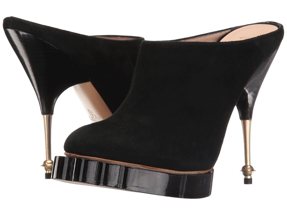 Vivienne Westwood - Animal Mule (Black) High Heels