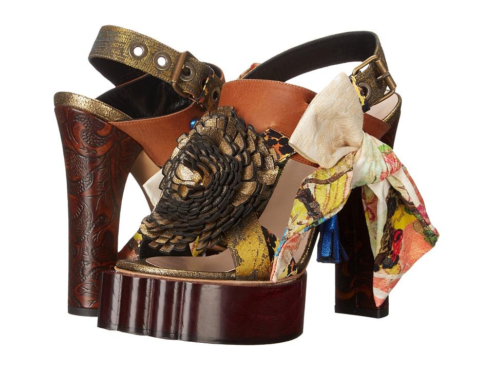 Vivienne Westwood - Conjurer Beast Sandal (Multicolor) High Heels