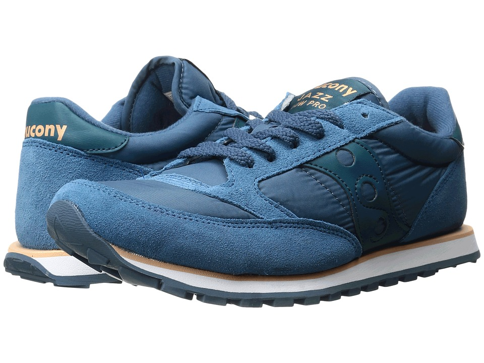 Saucony Originals - Jazz Low Pro (Ocean) Men's Classic Shoes