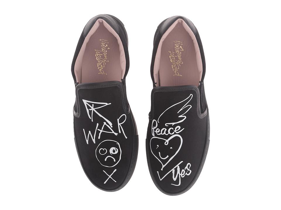 Vivienne Westwood Slip-On Trainer (Black/White) Women