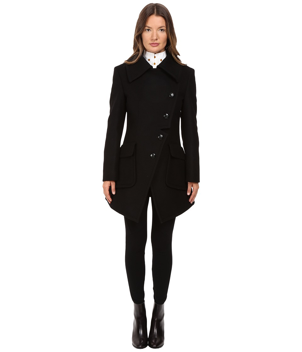 Vivienne Westwood - Military Coat (Black) Women's Coat