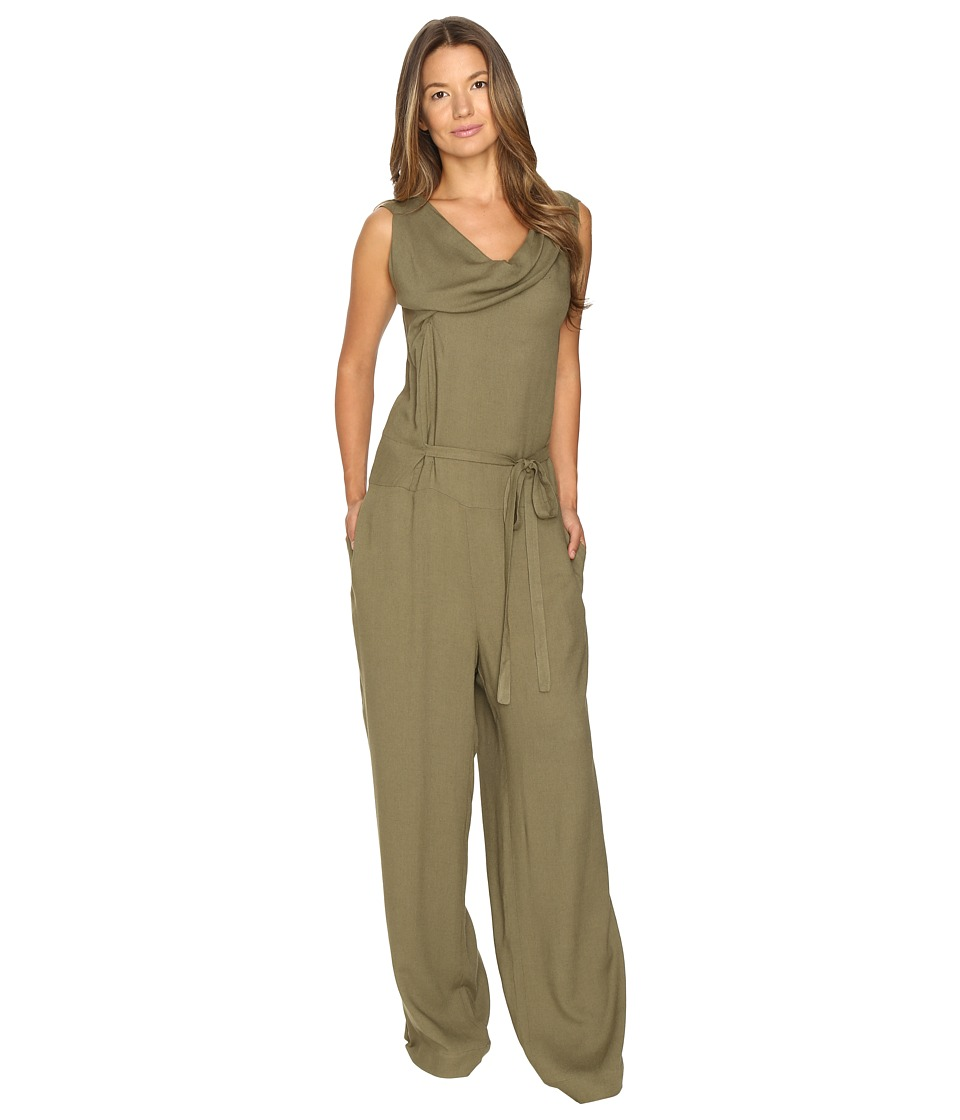 Vivienne Westwood - Twisted Jumpsuit (Green) Women's Jumpsuit & Rompers One Piece