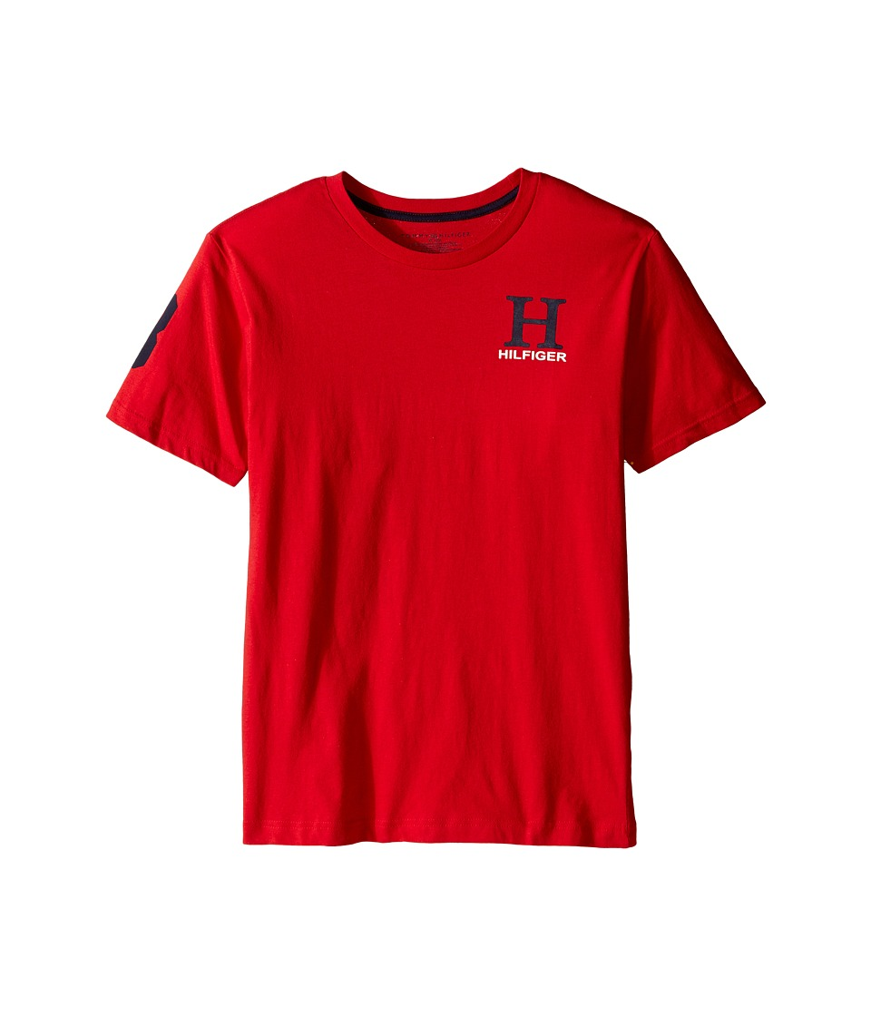 Tommy Hilfiger Kids - Jerry Tee (Big Kids) (Apple Red) Boy's T Shirt