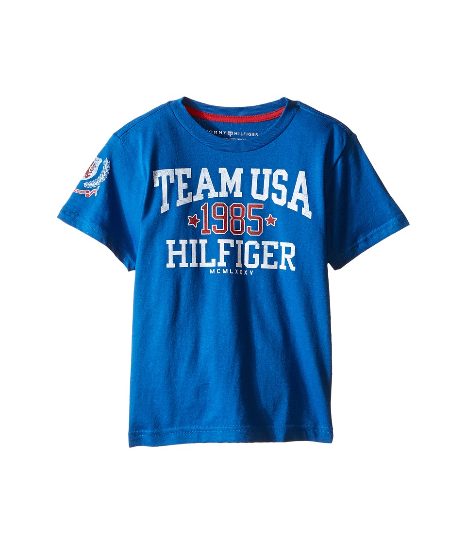 Tommy Hilfiger Kids - Felix Tee (Toddler/Little Kids) (Symphony Blue) Boy's T Shirt