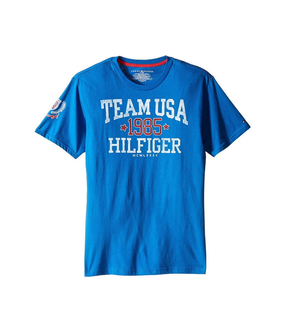 Tommy Hilfiger Kids - Felix Tee (Big Kids) (Symphony Blue) Boy's T Shirt