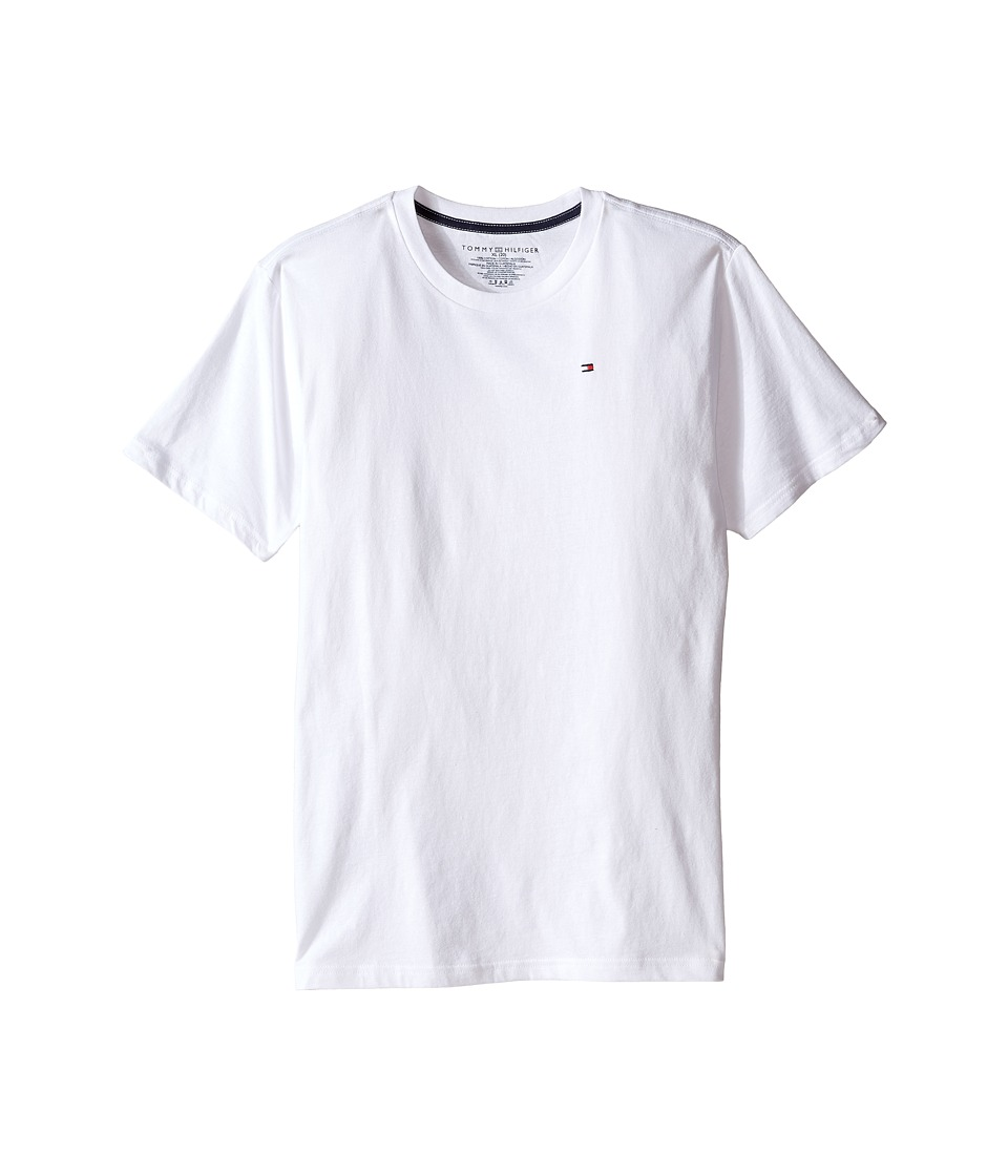 Tommy Hilfiger Kids - Tony Tee (Big Kids) (White) Boy's T Shirt