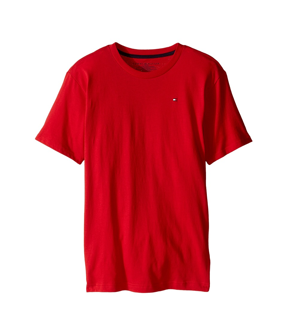Tommy Hilfiger Kids - Tony Tee (Big Kids) (Apple Red) Boy's T Shirt