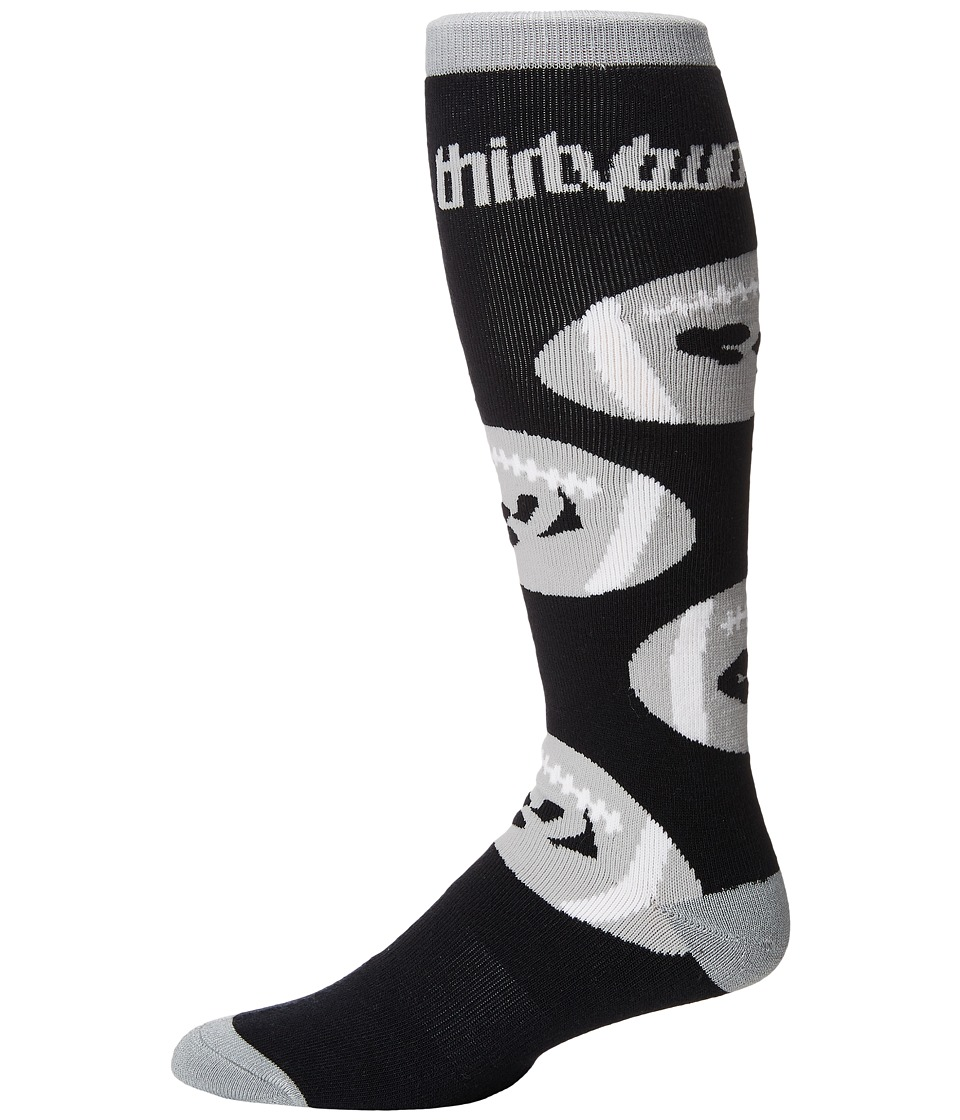 thirtytwo - Game Day Sock (Black) Men's Crew Cut Socks Shoes