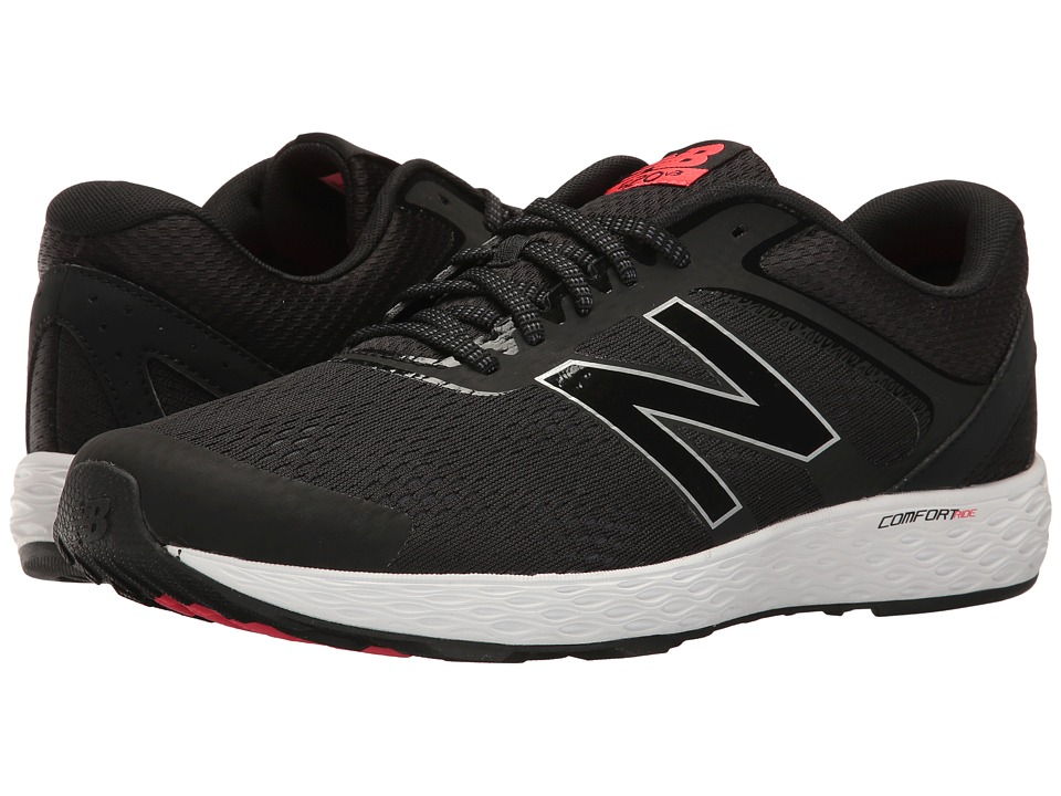 New Balance - M520LC3 (Black/Bright Cherry) Men's Shoes
