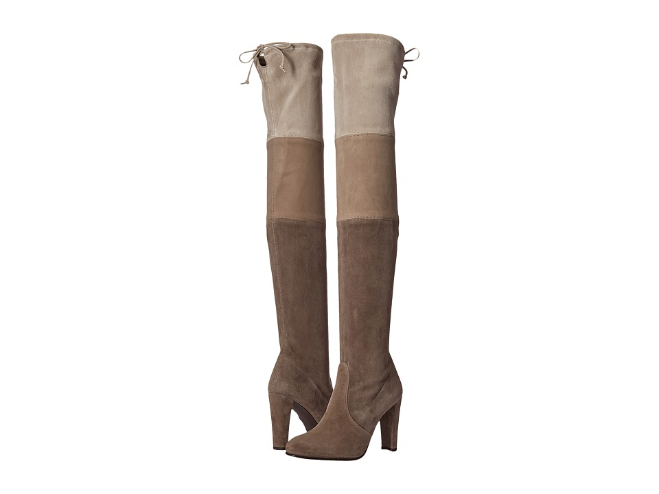 Stuart Weitzman - Troika (Topo Suede) Women's Dress Pull-on Boots