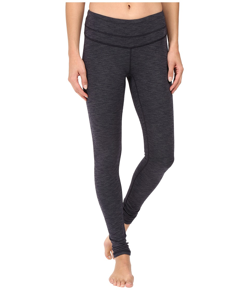 Lucy - Studio Hatha Legging (Lucy Navy/Silver Filigree Heather) Women's Workout