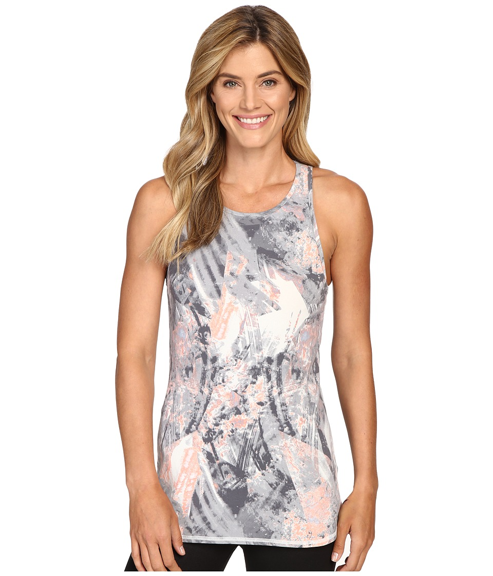 Lucy - Begin Within Tank Top (Pastel Glacier Print) Women's Sleeveless