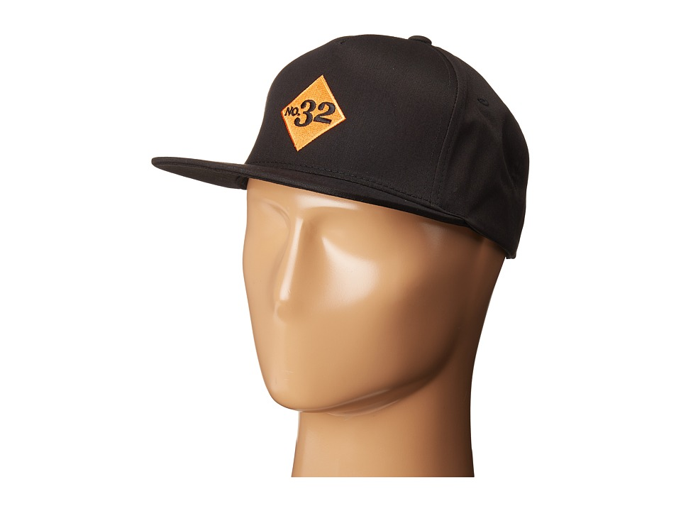 thirtytwo - Numero 5-Panel Hat (Black) Baseball Caps