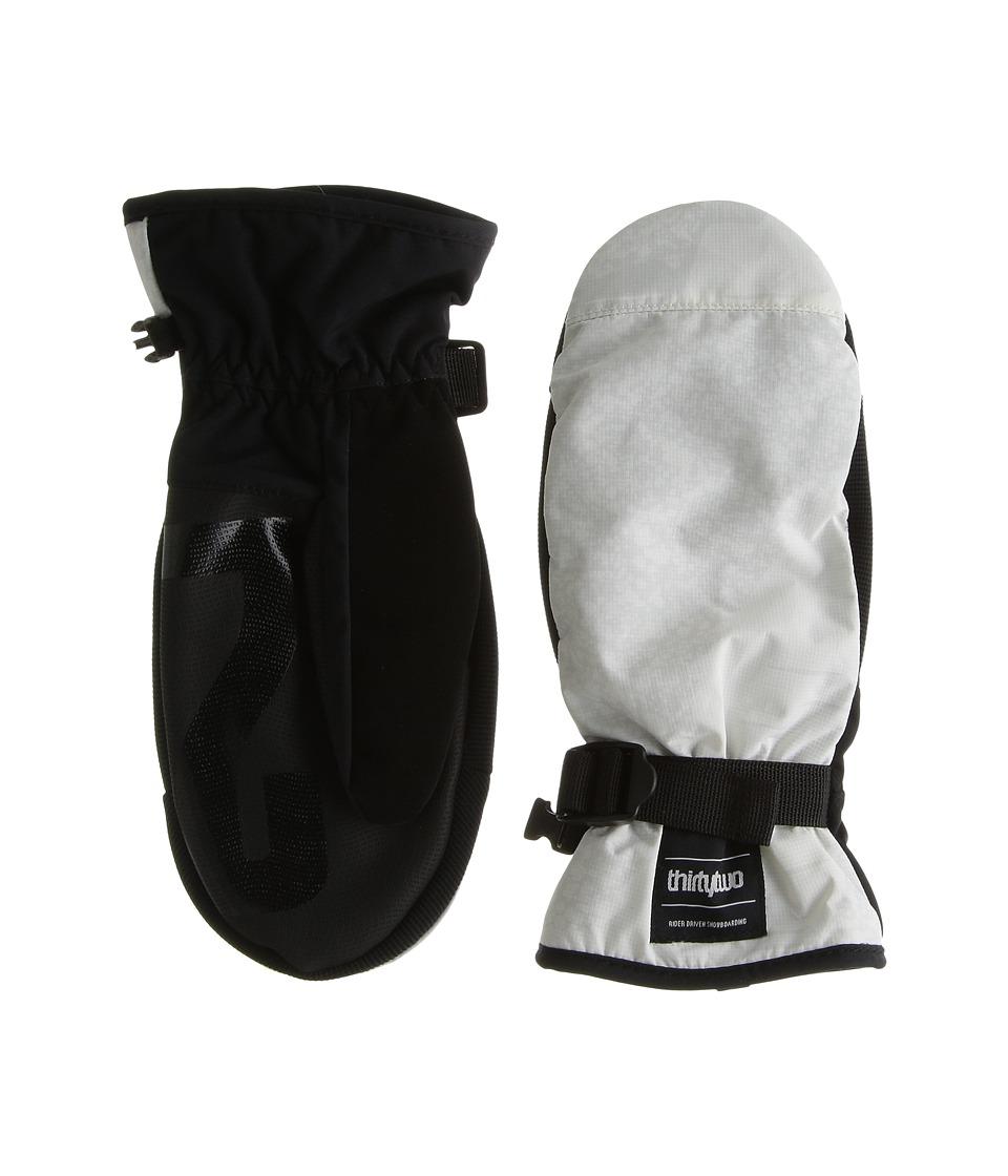 thirtytwo - Yates Mitt (White/Camo) Over-Mits Gloves
