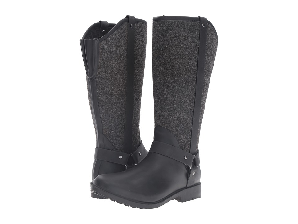 Chooka Trifecta Rain Boot (Charcoal) Women