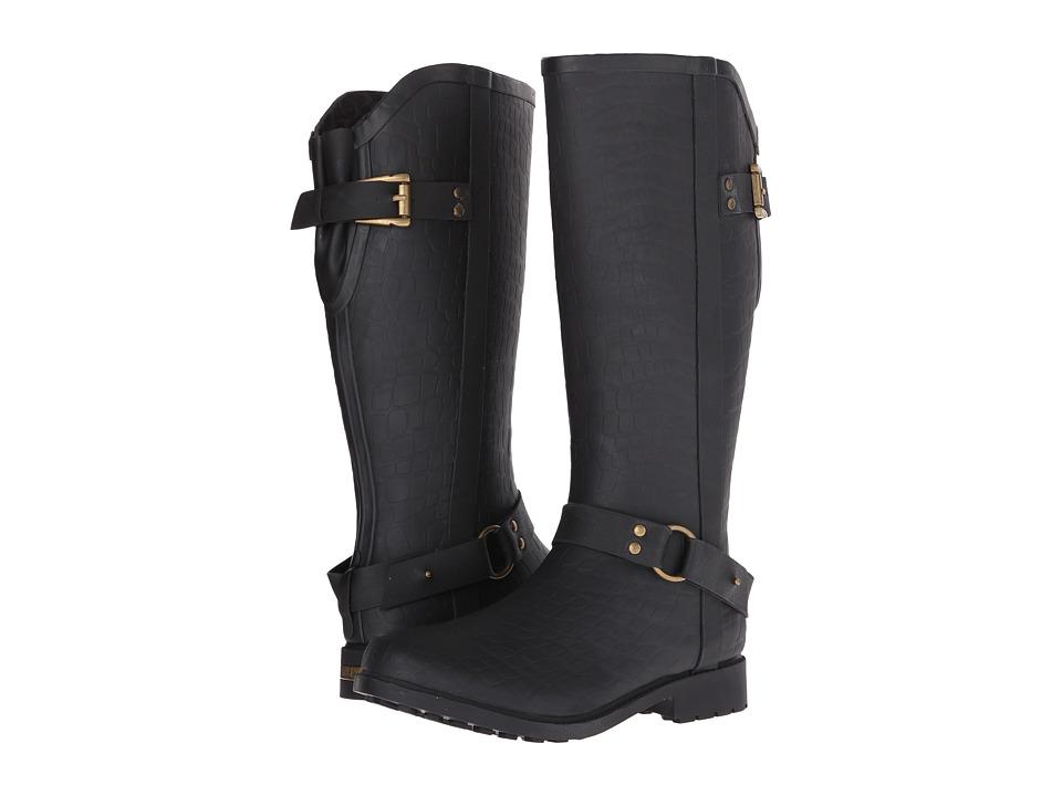 Chooka - Brindle Rain Boot (Black) Women's Rain Boots