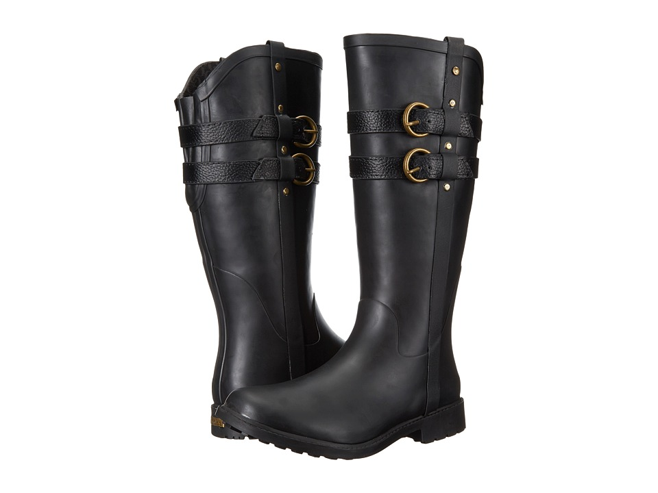 Chooka - Furlong Rain Boot (Black) Women's Rain Boots