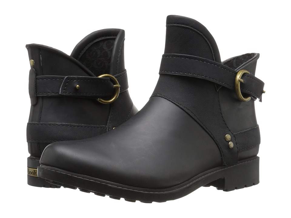 Chooka - Derby Rain Bootie (Black) Women's Rain Boots
