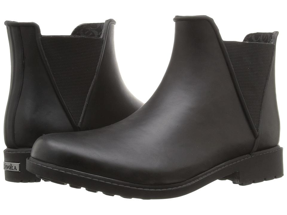 Chooka - Autograph Rain Bootie (Black) Women's Rain Boots