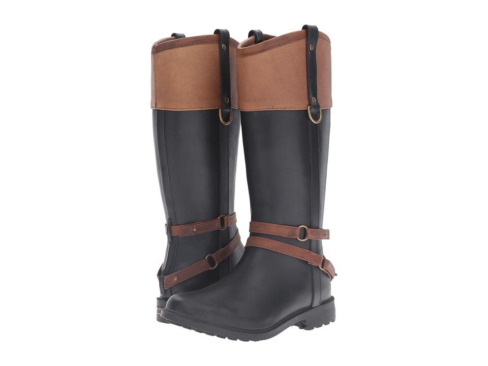 Chooka - Canter Rain Boot (Black) Women's Rain Boots