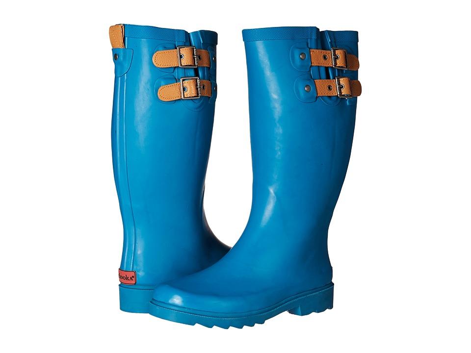 Chooka - Top Solid Rain Boot (Dark Teal) Women's Rain Boots