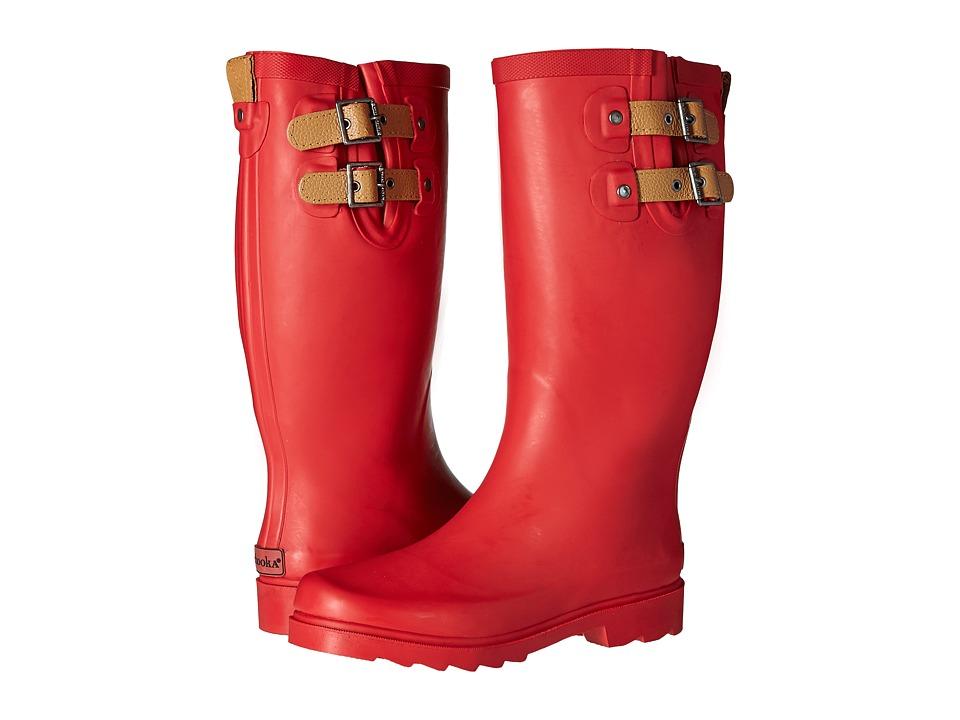 Chooka Top Solid Rain Boot (Red) Women