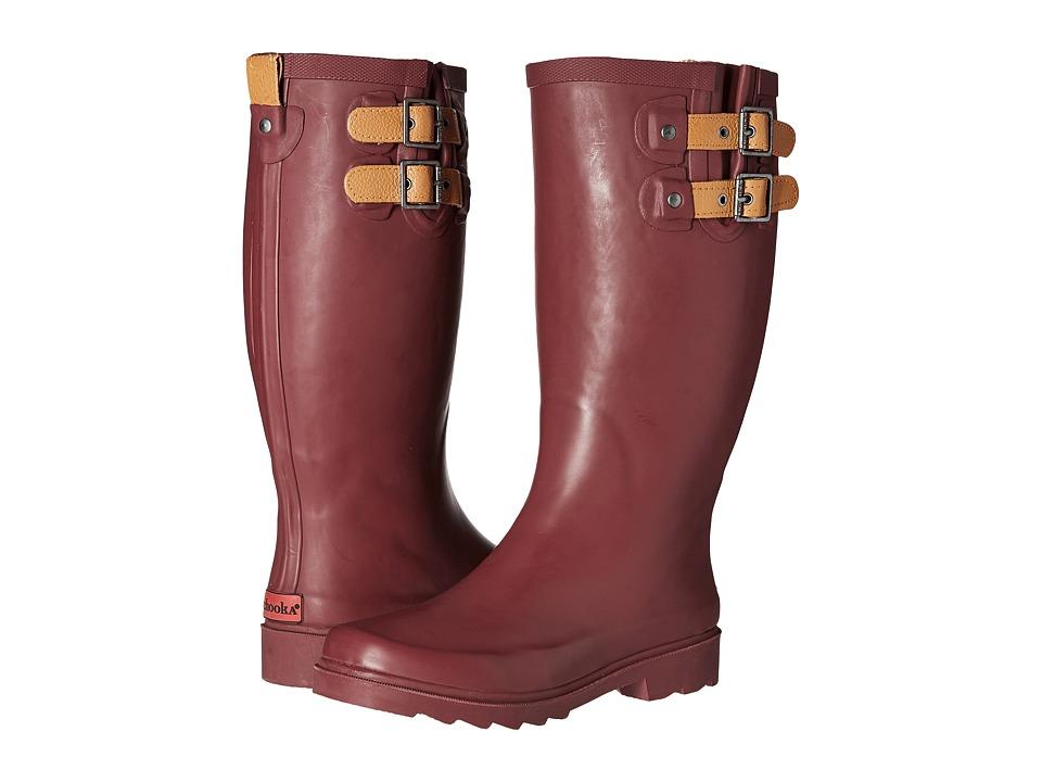Chooka - Top Solid Rain Boot (Wine) Women's Rain Boots