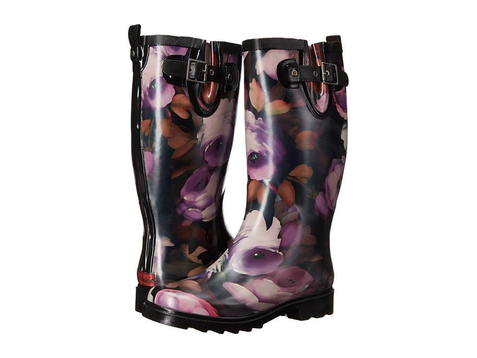 Chooka - Tribute Rain Boot (Black) Women's Rain Boots