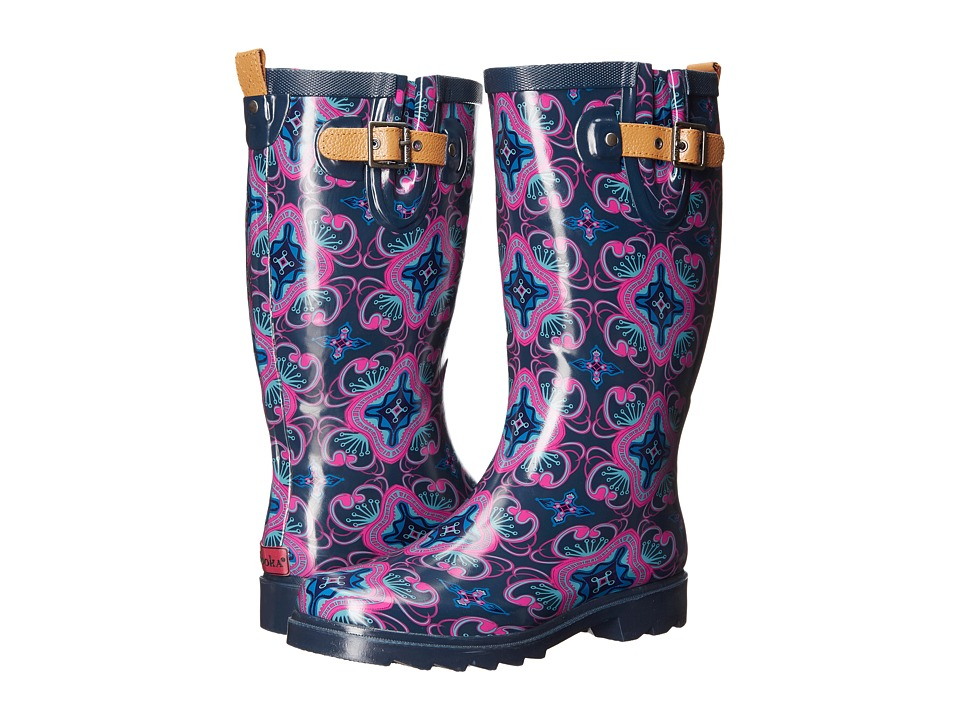 Chooka - Magic Carpet Rain Boot (Navy) Women's Rain Boots
