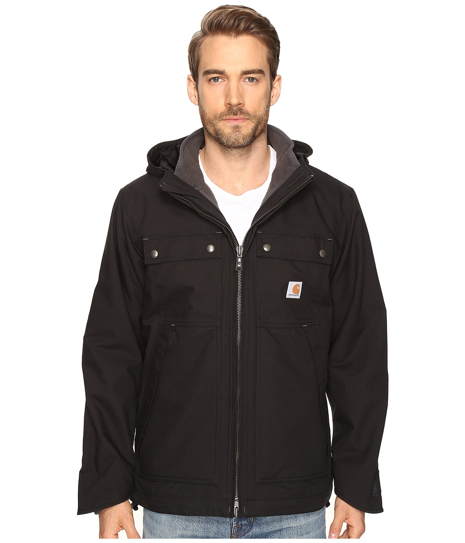 Carhartt - Quick Duck 3-in-1 Rockwall Jacket (Black) Men's Coat