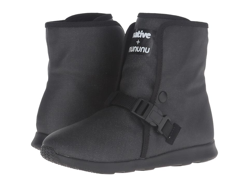 Native Kids Shoes - nununu Apollo Luna (Little Kid) (Black) Kid's Shoes