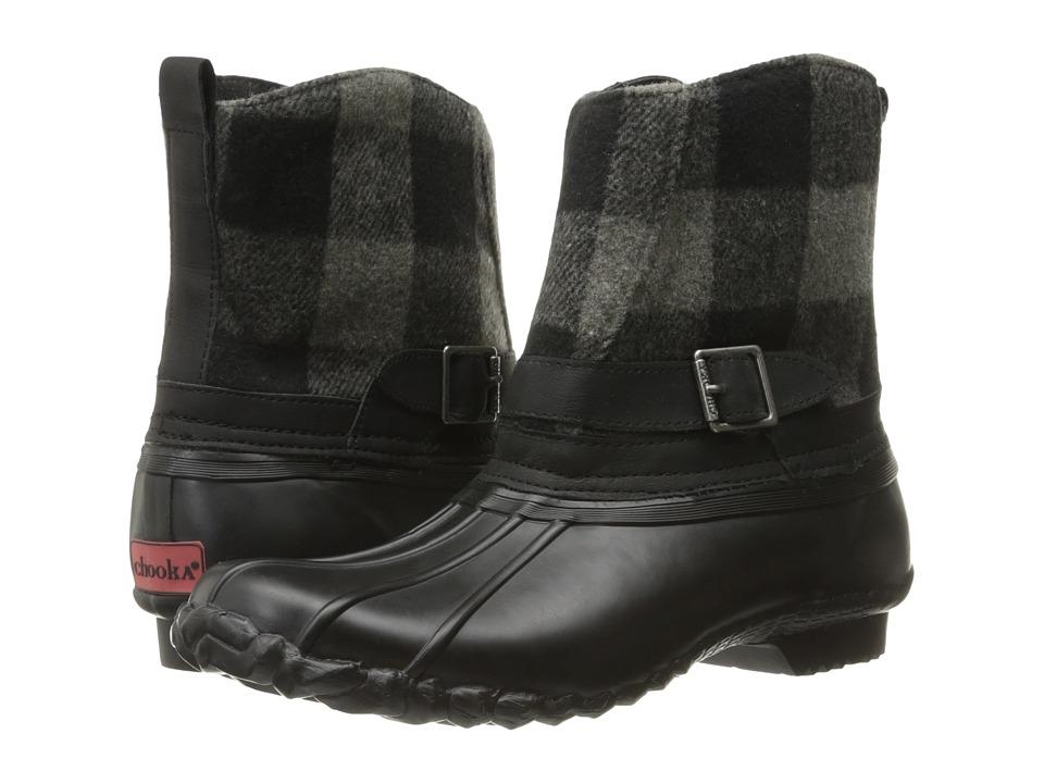 Chooka Step In Duck Boot Buffalo (Charcoal) Women