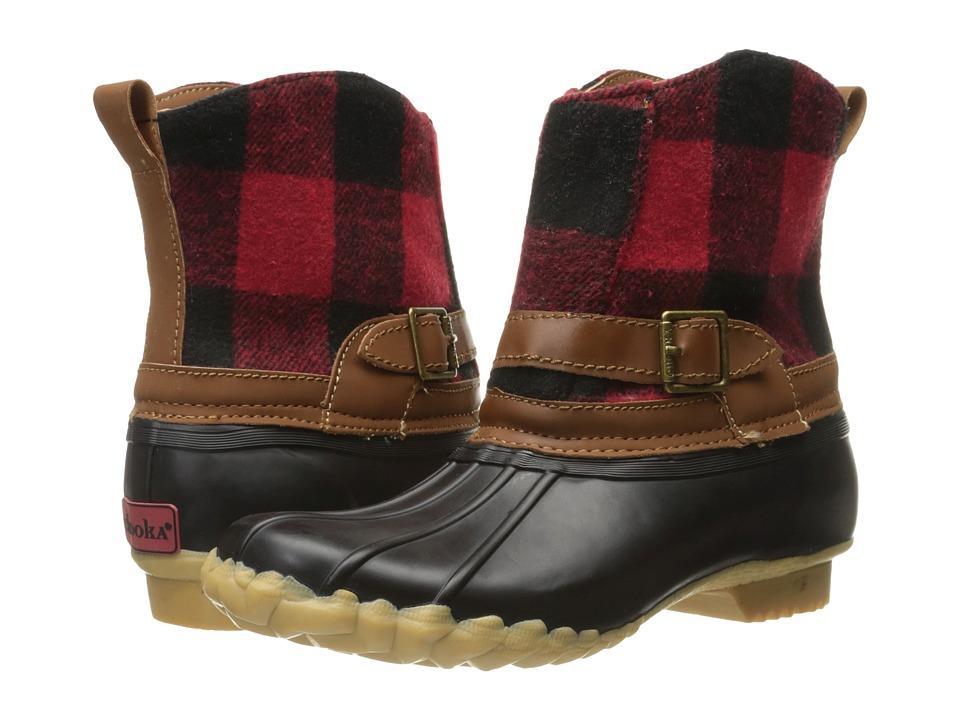 Chooka - Step In Duck Boot Buffalo (Red) Women's Rain Boots