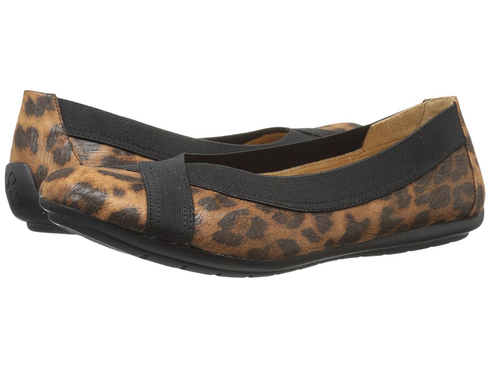 Naturalizer Uphold (Natural Leopard Printed Fabric) Women