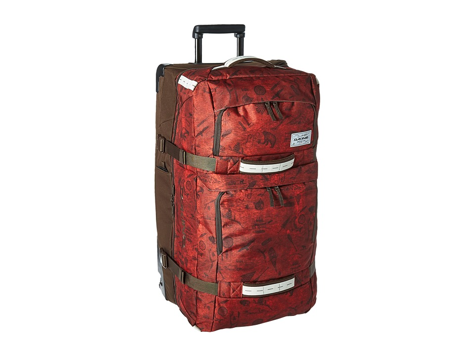 Dakine - Split Roller Luggage 100L (Northwoods) Luggage