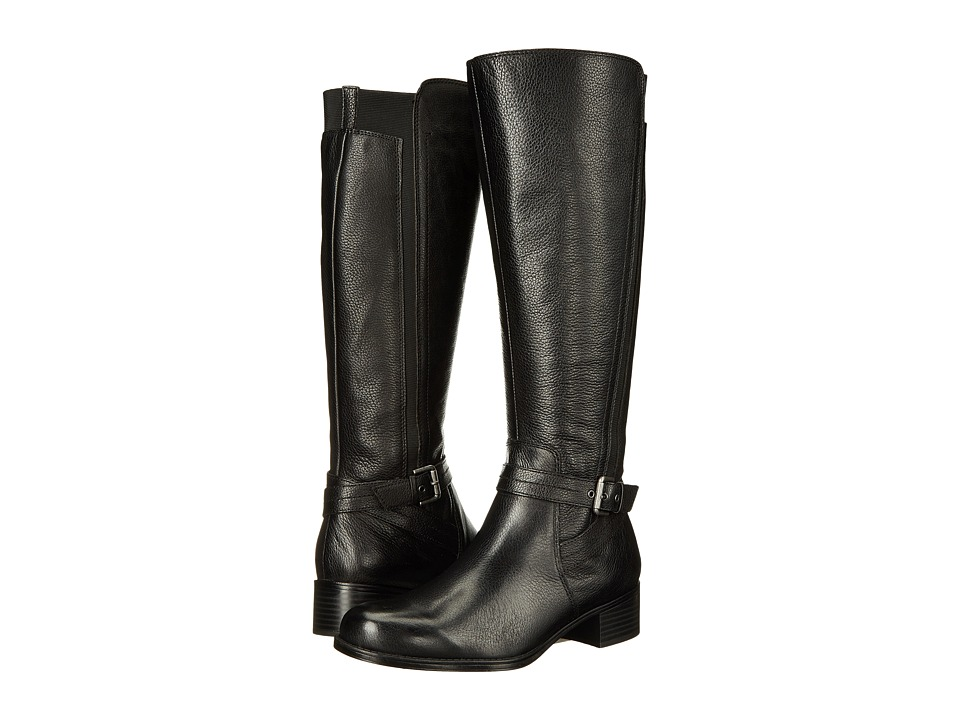 Naturalizer - Wynnie (Black Leather) Women's Boots