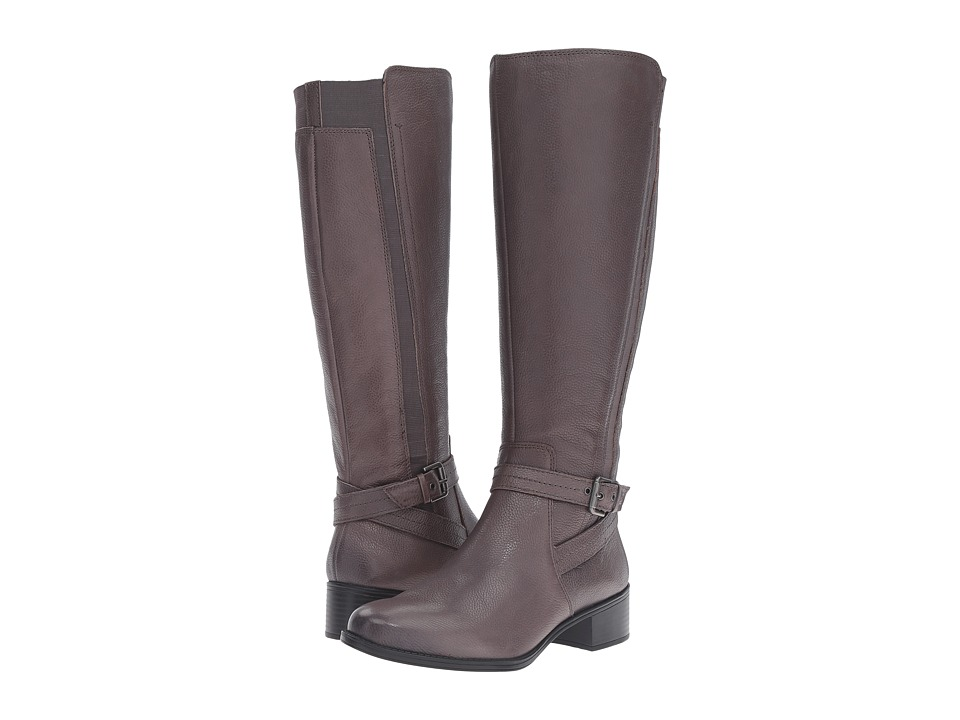 Naturalizer - Wynnie (Graphite Lead Leather) Women's Boots