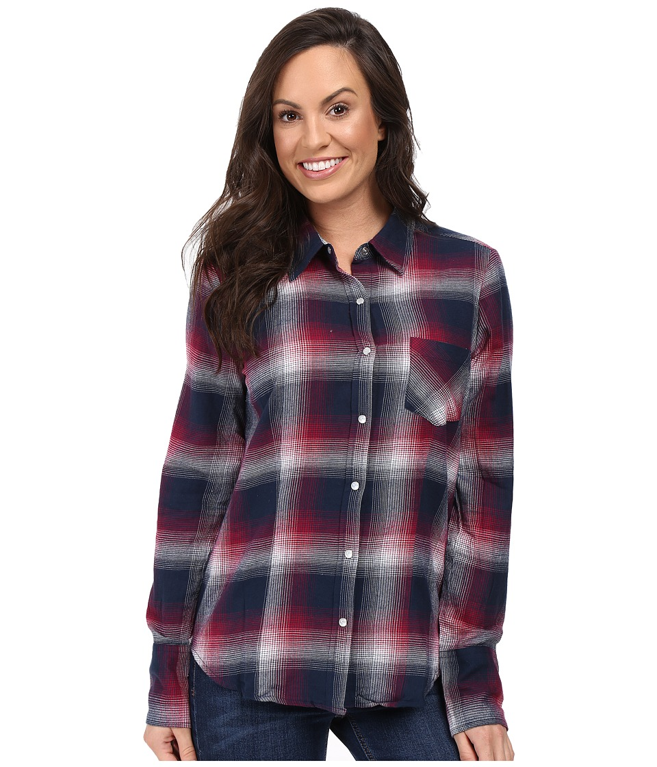 Stetson - Pomegrante Plaid Western Shirt (Red) Women's Clothing