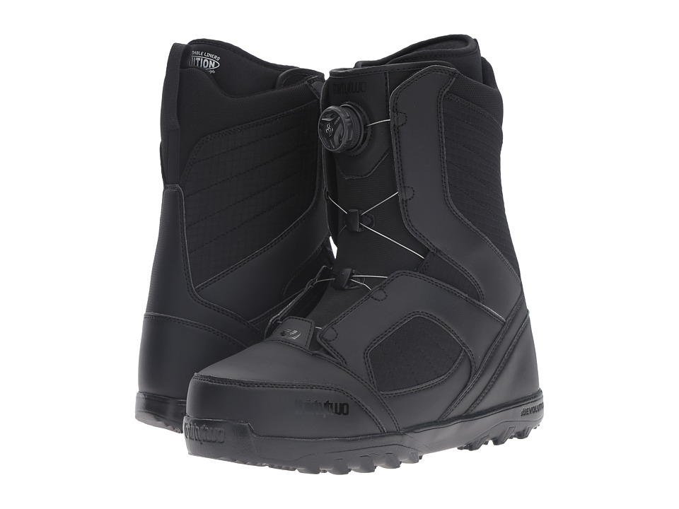 thirtytwo - STW Boa '17 (Black) Men's Cold Weather Boots