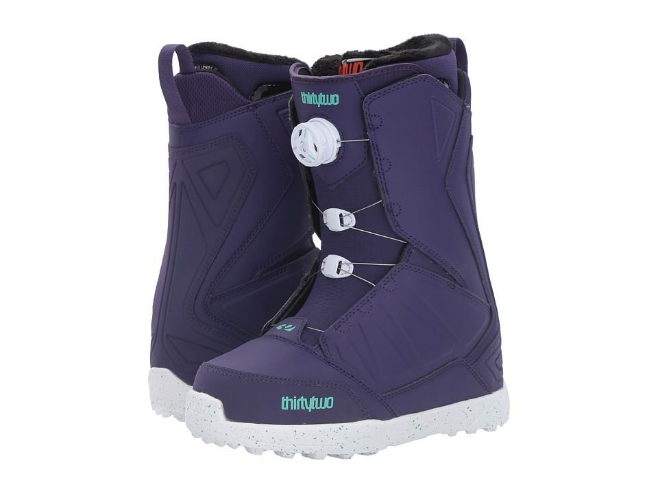 thirtytwo - Lashed Boa '17 (Purple) Women's Cold Weather Boots