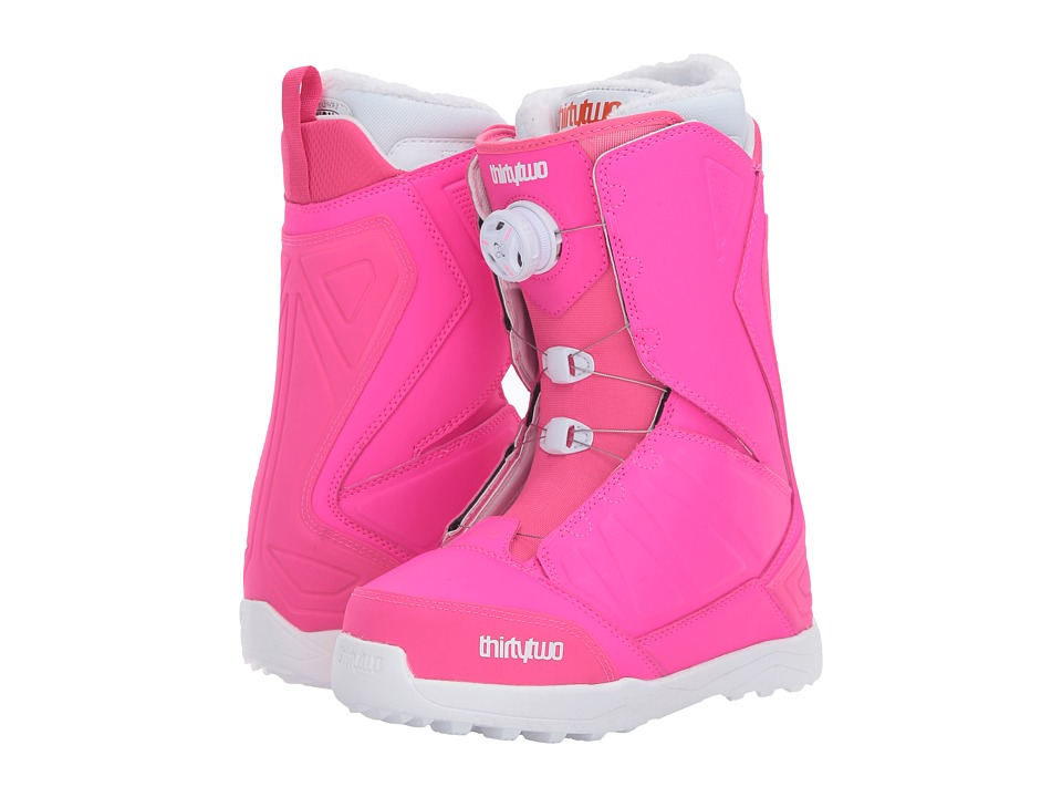 thirtytwo - Lashed Boa '17 (Pink) Women's Cold Weather Boots